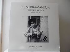 L. Subramanian-Electric Modes(Winter Sessions)Water Lily Acoustics-Wlacs04(Mint)