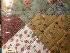 Floral Patchwork sofa/loveseat covers for Pets or use quilted fabric for crafts