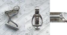 1 alter silberner Manschettenknopf - Cufflinks - Steigbügel - Hermès - Silber