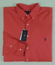 Polo Ralph Lauren Pony Feather Weight Twill Long Sleeve Classic Dress Shirt 3XLT