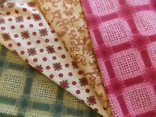 WtW Fabric Quilt Stash Craft Lot 4 Matters of the Heart SSI England Floral +++