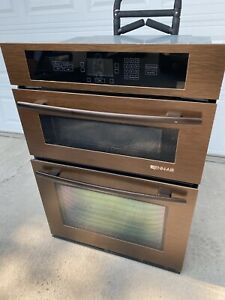"""Jenn-Air Copper Euro-Style 30"""" Double Combination Convection Oven Microwave"""