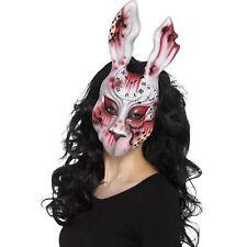 Evil blanc lapin masque ADULTES Horreur Halloween Accessoire déguisement