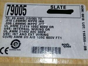 Alpha Wire 79005 20/7C EcoFlex EcoGen mPPE 600V TnCu Flexing Control Cable /10ft