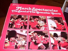 THE BAND OF THE GRENADIER GUARDS MARCH SPECTACULAR-LP-NM-ATTIC-ENGLAND
