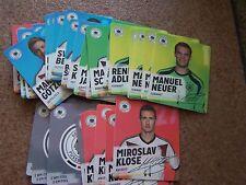 REWE Sammelbilder Cards WM 2014 Fußball Deutsches Team Sammelcards