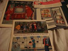 Lot of 3 Vintage Appliance Magazine Advertisements- Crosley, Philco Westinghouse
