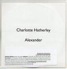 (AA64) Charlotte Hatherley, Alexander - DJ CD