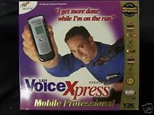 L&H Voice Xpress Mobile Professional Version 4  Brand New includes recorder