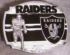 NFL Pewter Belt Buckle Oakland Raiders NEW