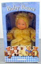 Light Skin Blue Eyed Cuddly Baby Doll w/ Bear Costume by Anne Geddes #52501 '97