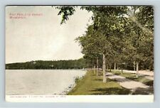 Minneapolis MN, Foot Path, Lake Harriet, Vintage Minnesota c1906 Postcard