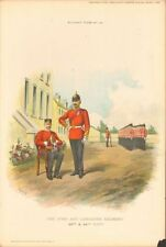 Lithograph Original Military Art Prints