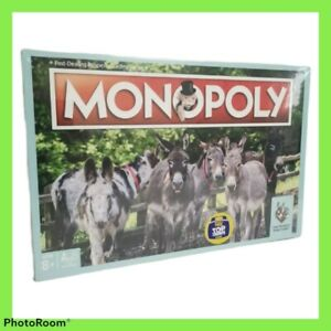 The Donkey Sanctuary Limited Edition  Monopoly Board Game Rare Collectible