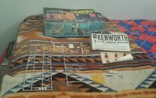 AMT Kenworth K-123 Cabover Junkyard Parts lot w/ Instructions Decals 1/25 # T520