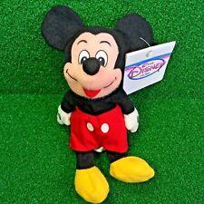NEW Disney Store Mini Bean Bag MICKEY MOUSE Iconic Walt Disney Plush Toy - MWMT
