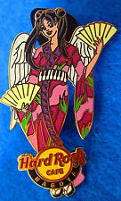 NAGOYA SEXY ROCKIN ANGEL SERIES GEISHA FANS KIMONO GIRL Hard Rock Cafe PIN