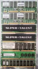 7pc PC Computer 256MB 512MB 1GB DRAM SDRAM RAM MEMORY PC133 PC2100 PC3200 Lot