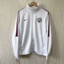 MANCHESTER CITY 2017 2018 FOOTBALL SOCCER JACKET TRACK TOP NIKE 868926-100