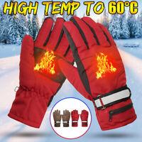 2000mah Warmer Hand Waterproof Battery Electric Heated Gloves Motorcycle Skiing