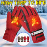 2000mah Warmer Hand Waterproof Battery Electric Heated Gloves Motorcycle Skiing