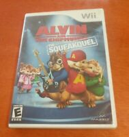 Alvin and the Chipmunks The Squeakquel Nintendo Wii Majesco Entertainment