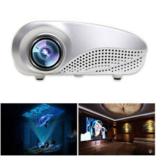 Mini Home Multimedia Cinema LED HD Projector Support AV TV VGA USB HDMI SD Relia