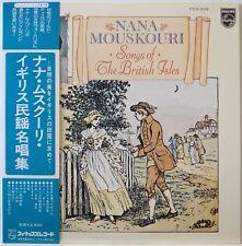 NANA MOUSKOURI / SONG OF THE BRITISH ISLES / FOLK / NIPPON PHONOGRAM JAPAN OBI