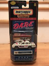 DARE MATCHBOX COLLECTIBLES Lafayette Police Indiana Ford Crown Victoria WHITE