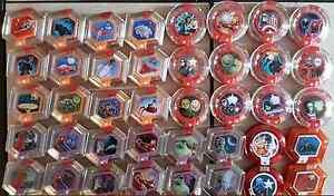 Disney Infinity Marvel Edition Power Discs lot of 15 Discs of Series 1