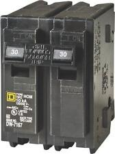 FAST SHIPPING!! NEW!!  Square D HOM230 Two-Pole Circuit Breaker, Hom230  30Amp
