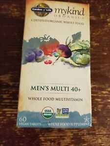 mykind Organics Mens 40 Plus Multi 60 Tabs