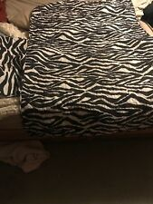 small couch zebra couch Reversible Furniture Protector for love seat
