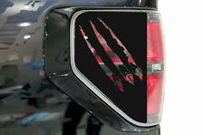 Vinyl Decal Brake Light Cover Claws Wrap Kit for Ford F-150 Raptor SVT 2010-2014