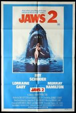 JAWS 2 Original Australian One sheet Movie poster Killer Shark art