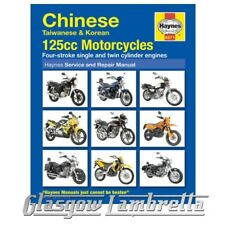 Haynes Manual 4871 Chinese, Taiwanese & Korean 125cc Motorcycles + stickers