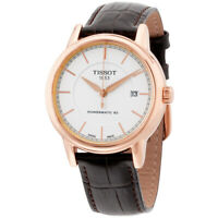 Tissot Automatic Movement White Dial Men's Watches T0854073601100