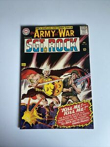 Our Army at War ft. SGT. ROCK  #163 Viking Prince DC Comic Book February 1966