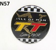 Isle of Man TT Since 1907 Gel Badge Sticker