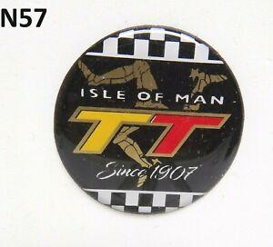 Isle of Man TT Since 1907 Gel Badge Sticker