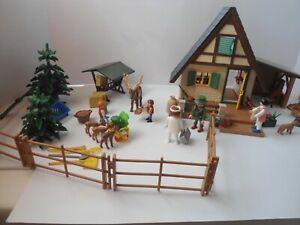 Playmobil - Forsthaus - mit Tierarzt - Hirsch und Reh -Sammlung- Konvolut