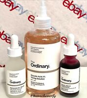 THE ORDINARY Glycolic Acid 7% Toning Solution+Niacinamide+AHA Peeling Solution