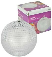 Disco Ball Mirror Ball 20cm 900g - Opened but unused - lightweight for parties