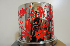 Partylite Original Enchanted Crimson Berry Candle Holder Hard to Find New in Box
