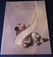 Sotheby's Japanese Works of Art - March 1988 Catalog