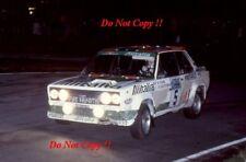 Walter Rohrl ALITALIA FIAT 131 ABARTH RAC Rally 1978 fotografia 1