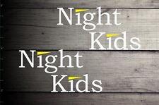 Initial D Night Kids Decal