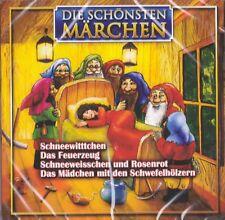 Die schönsten Märchen Hörspiel CD Schneewittchen und die 7 Zwerge Das Feuerzeug