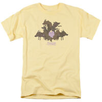 Adventure Time LSP & Wolves T Shirt Mens Licensed Lumpy Space Princess Banana
