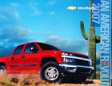 2007 Chevrolet COLORADO pickup truck color dealer-issue factory sales catalog 07